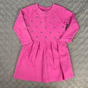Carter's Hot Pink Dress Silver Sequins 2T